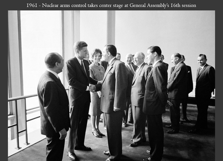 1961 - Nuclear arms control takes center stage at General Assembly's 16th session