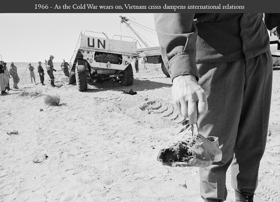 1974 - UN peacekeepers killed in the line of duty