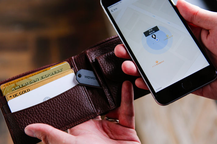 wallet and smartphone