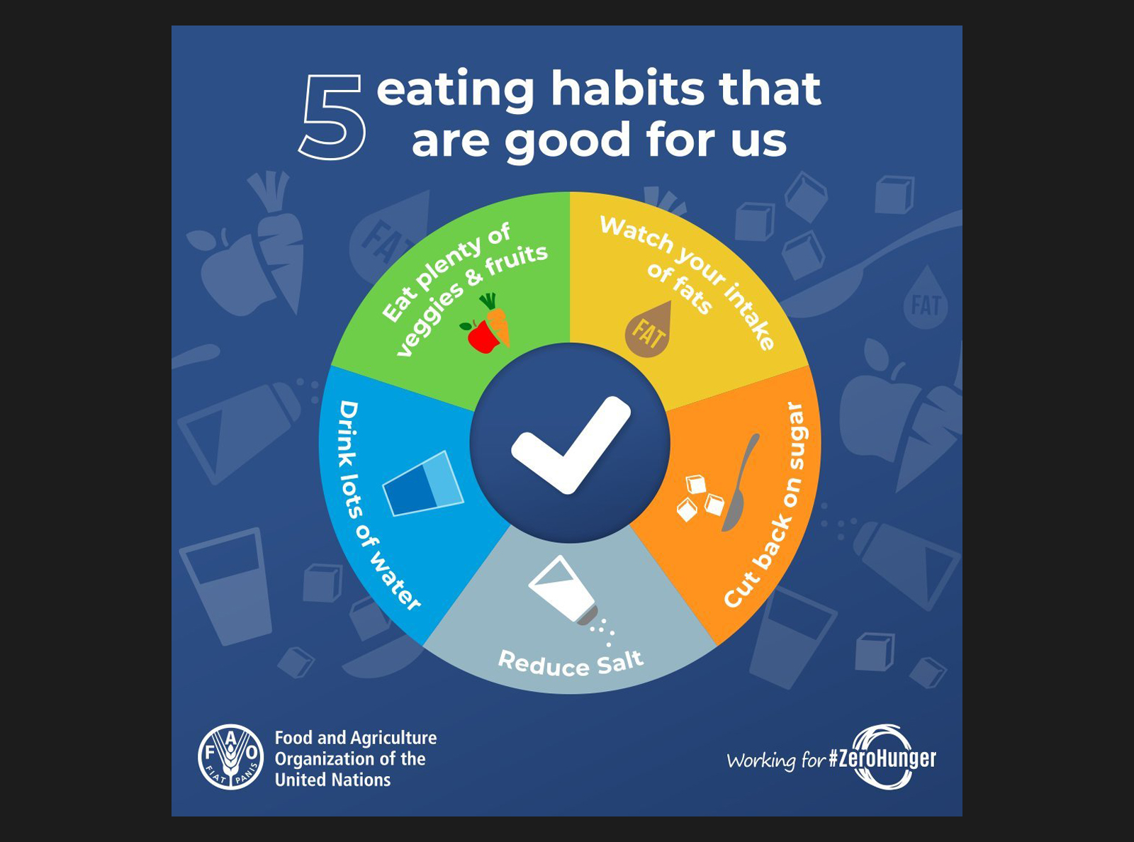 5 eating habits that are good for us
