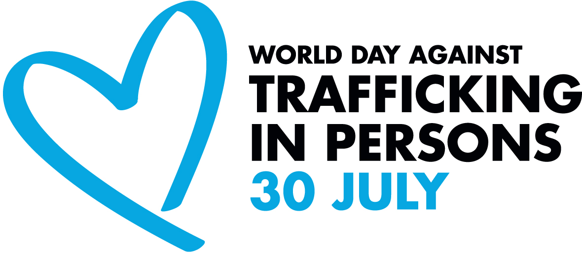 logo for World Day Against Trafficking in Persons