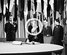 Signing of the UN Charter