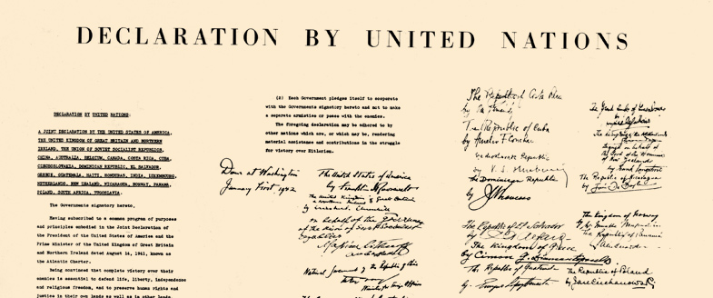 Declaration by the United Nations