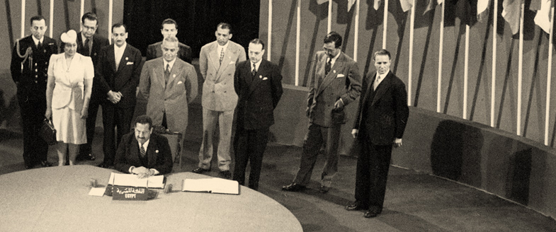 Egypt signs the UN Charter