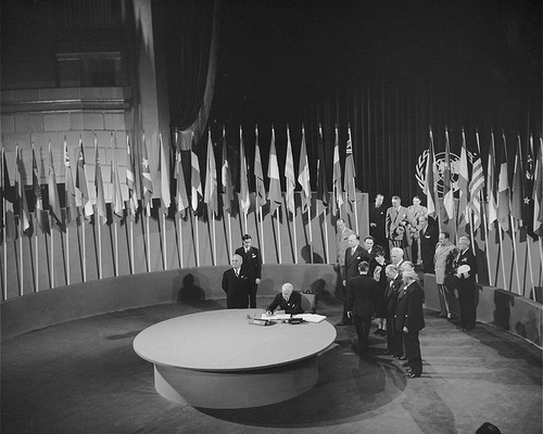 Founding of the UN - San Francisco Conference