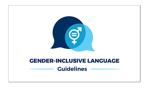 Gender Inclusive Language Guidelines