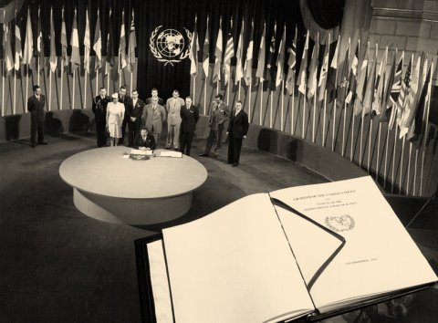 1945: The San Francisco Conference | United Nations