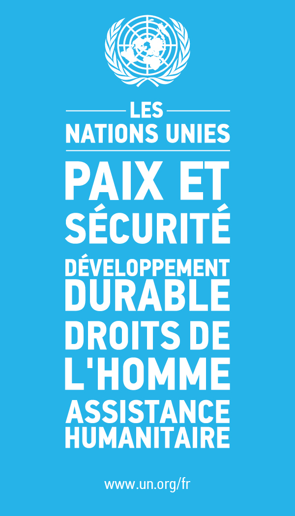 The United Nations - peace and security, humanitarian assistance, sustainable development, human rights