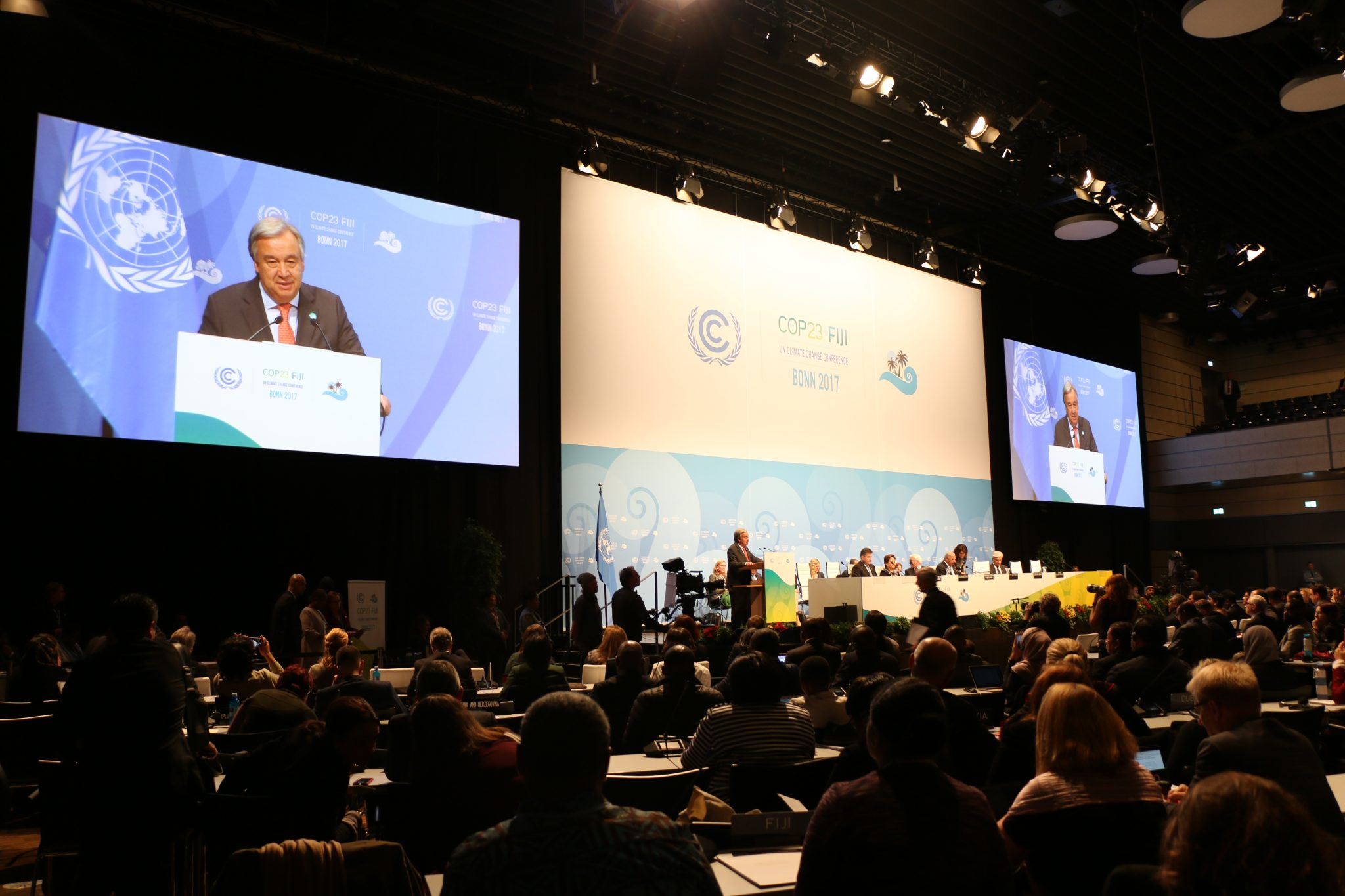 COP23: UN chief urges more ambition, leadership and partnerships on climate action - United Nations Sustainable Development