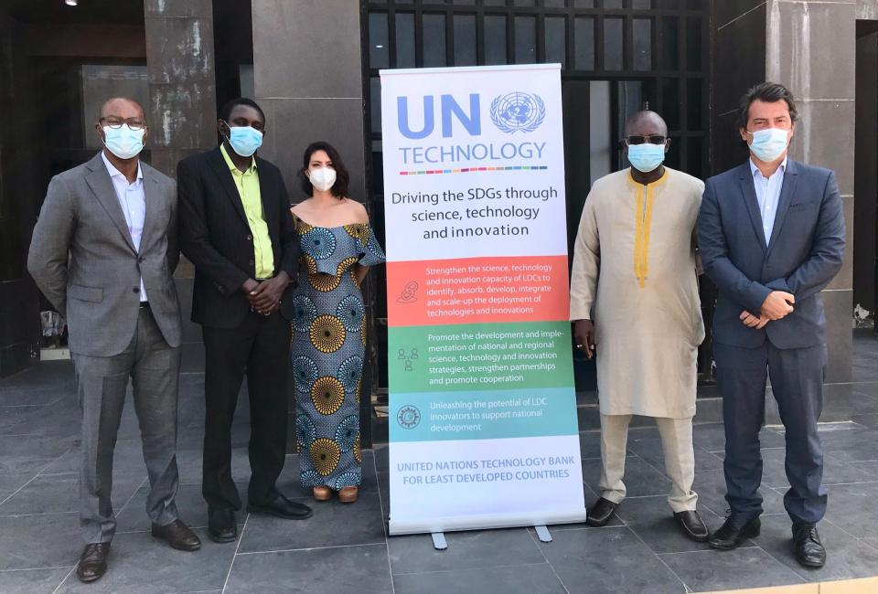 UN Technology Bank 's policy dialogue in Banjul, Gambia.