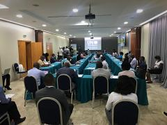 The workshop on enhancing geospatial technologies for the disaster management in Mozambique .