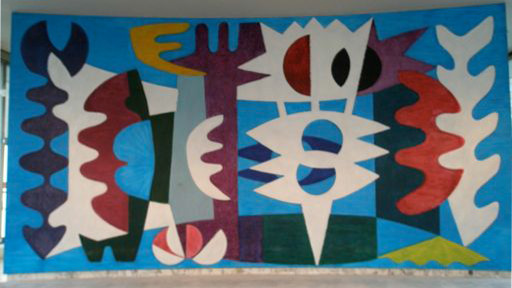 Composition for Concave Wall, UNNY307G, 1961, Sweden