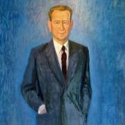 Portrait of Dag Hammarskjöld, UNNY019G, 1966, Ford Foundation & Bonniers Swedish Publishing House