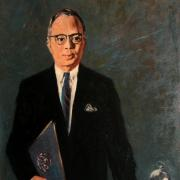 Portrait of U Thant, UNNY020G, 1972, Friends of U Thant