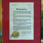 Proclamation, UNNY043G, 1985, Mayor of San Francisco