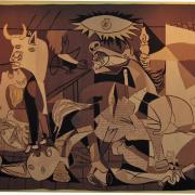 Guernica (Tapestry after 'Guernica' by Pablo Picasso), UNNY066L, 1955, Nelson Rockefeller, Jr