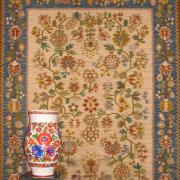 Tree in Blossom (Carpet), UNNY070G.01, 1970, Ukraine