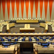 Economic and Social Council Chamber, UNNY079G, 1952, Sweden