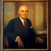 Portrait of Herbert H Lehman, UNNY117G, 1986, Lehman Foundation