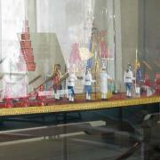 "Replica of the Royal Thai Barge ""Suphannahong"", UNNY121G, 1984, Thailand"