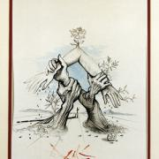 Five Continents (Clasped Hands), UNNY154G, 1966, Mr. Salvador Dali