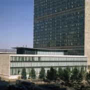 Dag Hammarskjöld Library, UNNY168G, 1961, Ford Foundation