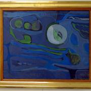 Composition in Green and Blue, UNNY179G, 1959, USSR
