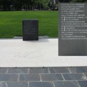 Commemorative Stone in Honor of the Victims of Extreme Poverty, UNNY218G, 1996, France