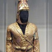 "Replica of ""The Golden Man"", UNNY221G, 1997, Kazakhstan"