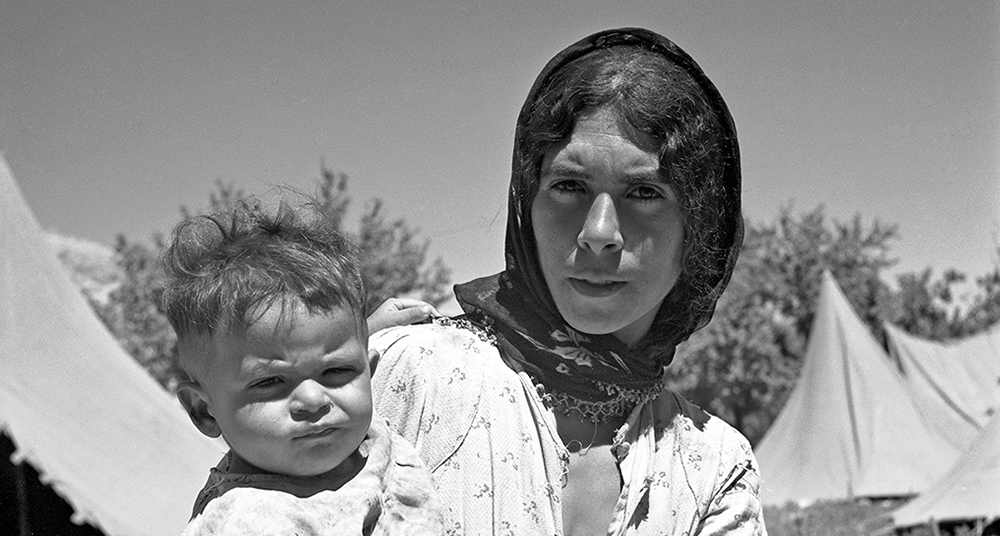 Palestinian Refugees in Refugee Camps. UN Photo