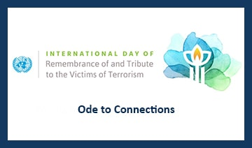 Image banner for the Ode to Connections for International Day 2021