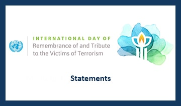 Image banner for the Statements for International Day 2021