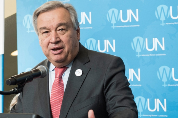 United Nations Secretary-General Antonió Guterres (file)
