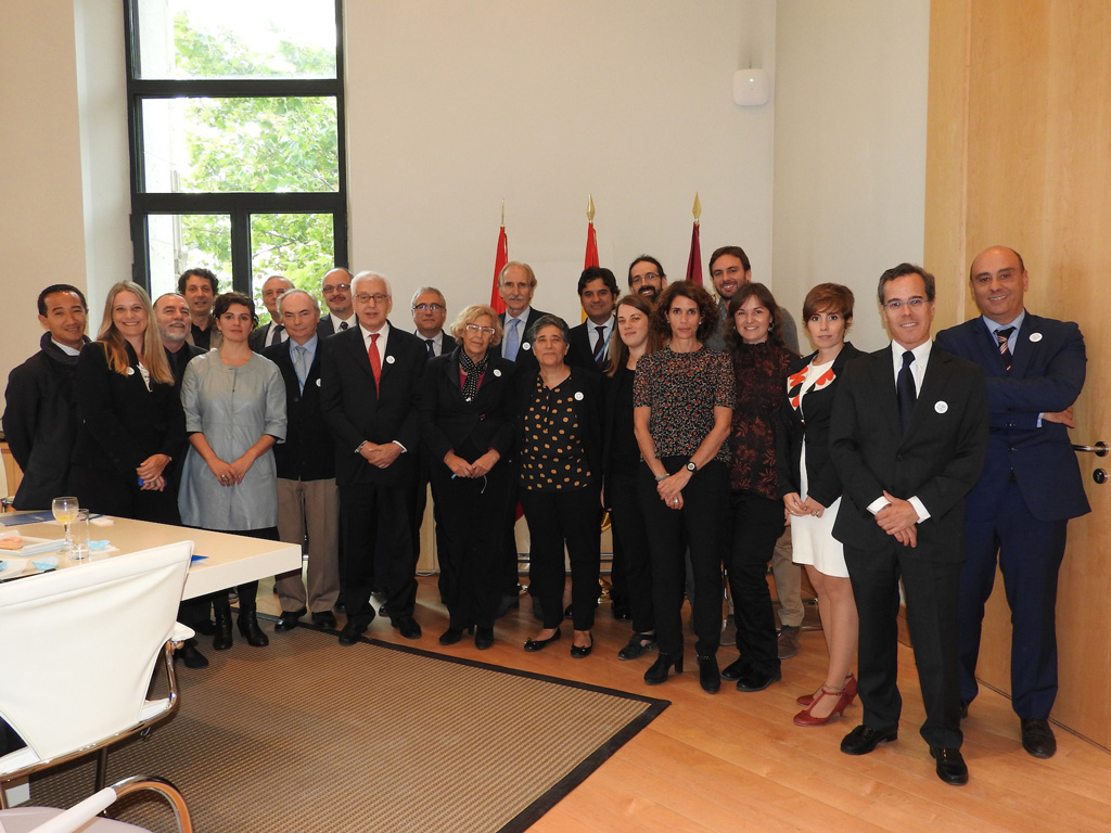 UNW-DPAC and the UN entities in Spain met the Mayor of Madrid