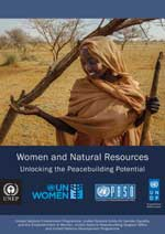 Women and natural resources: Unlocking the peacebuilding potential.