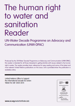 (The) Human Right to Water and Sanitation - Reader