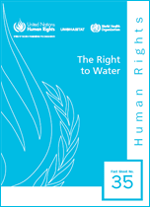 (The) Right to Water. Fact sheet No. 35