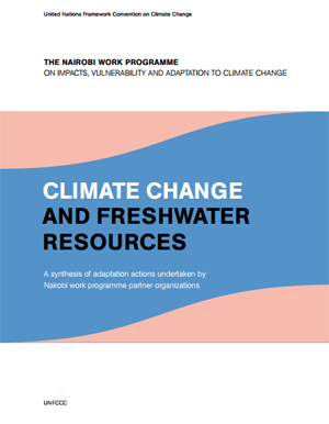 Climate Change and Freshwater Resources. A Synthesis of Adaptation Actions Undertaken by Nairobi Work Programme Partner Organizations.