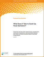 Enlace a What Does It Take to Scale Up Rural Sanitation?