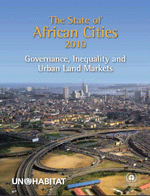 Portada de State of African Cities 2010: Governance, Inequality and Urban Land Markets