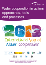 Water cooperation in action: approaches, tools and processes