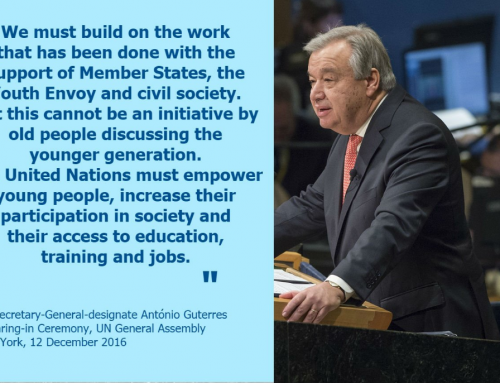 Secretary-General António Guterres' remarks to the General Assembly on taking the oath of office