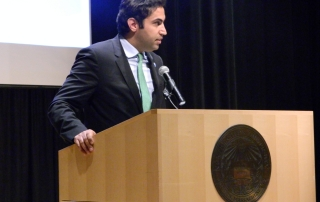 Alhendawi adressing the MCN conference participants