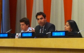 Ahmad Alhendawi, UN Secretary-General's Envoy on Youth, at the High Level Forum on the Culture of Peace