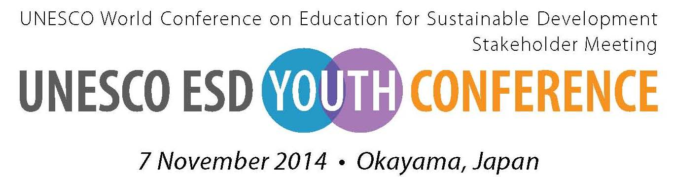 UNESCO ESD Youth Conference logo
