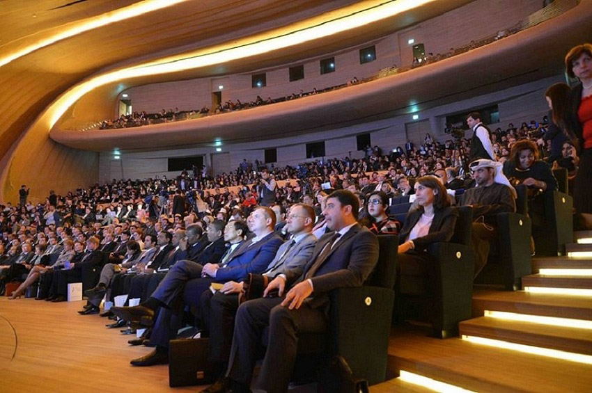 Participants at First Global Forum on Youth Policies, Baku, Azerbaijan. Photo: Global Forum on Youth Policies