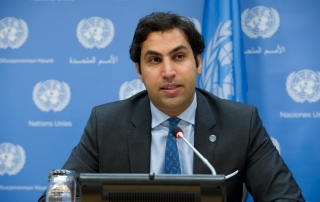 Secretary-General's Envoy on Youth Ahmad Alhendawi. UN Photo/Eskinder Debebe