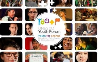 9th UNESCO Youth Forum - Partnership brochure - HR