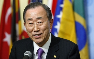 Secretary-General at Stakeout