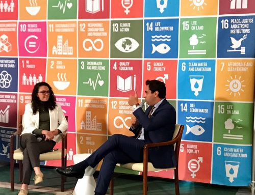 Conversation at SDG Media Zone with the UN Secretary-General's Envoy on Youth